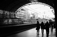 Esperant el tren