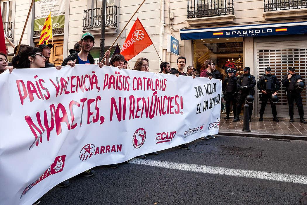 Manifestació 25 d,abril