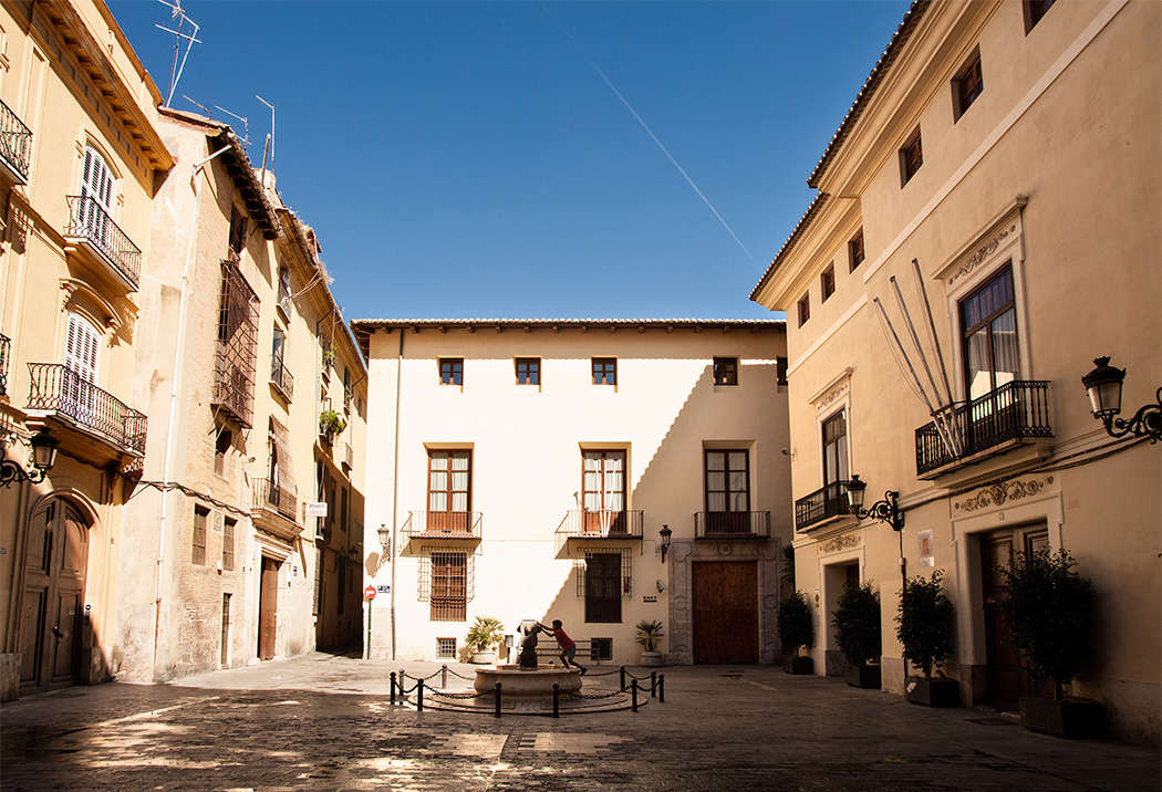 Plaça del Correu Vell-Ciutat de València