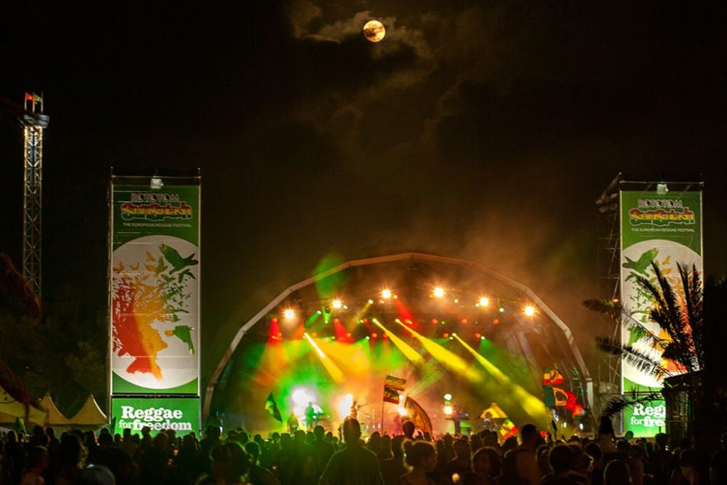 Rototom, Concerts