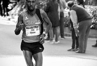 Maratón km 30, el muro